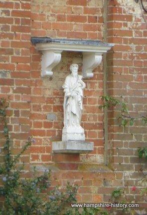 Froyle Hampshire village of saints