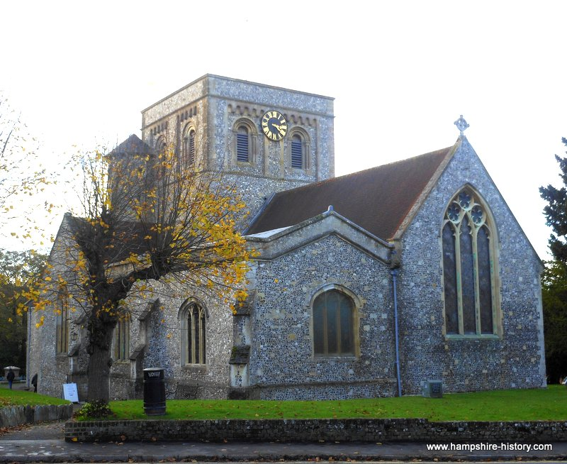 St Mary's church Kingsclere