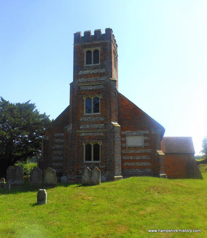 Up Nately Church