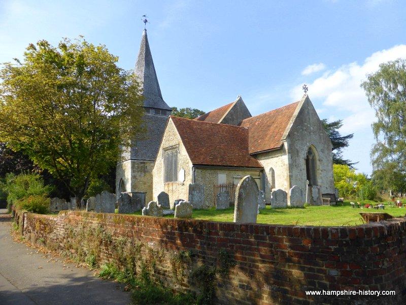 St Boniface Nursling Hampshire History