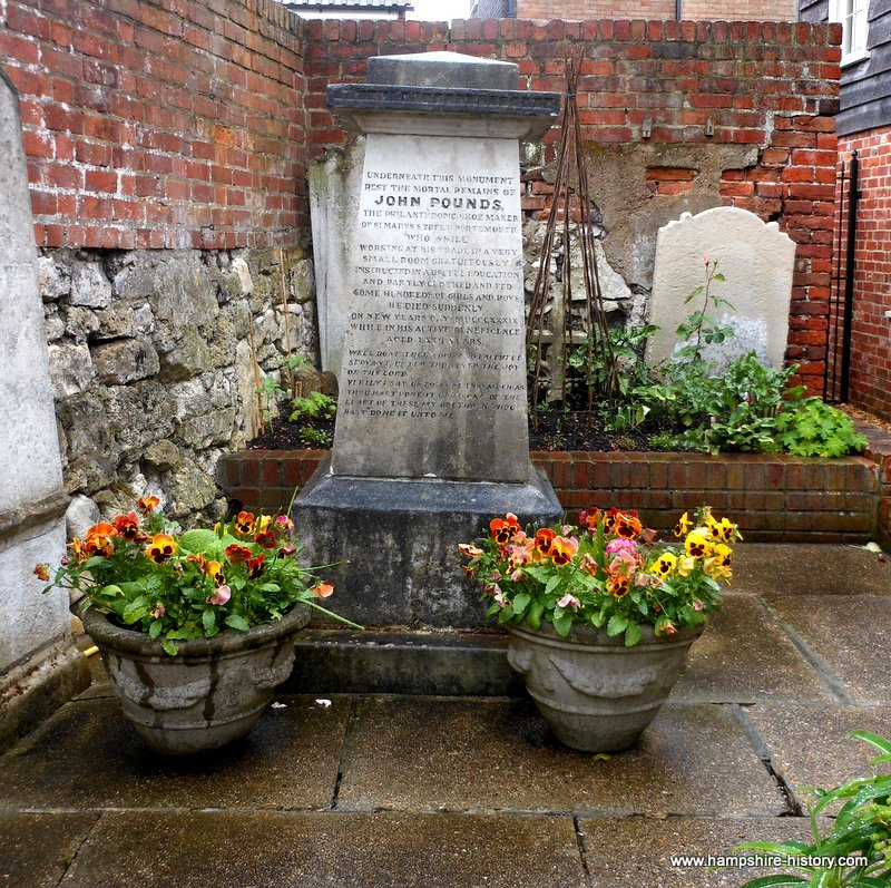 Memorial to John Pounds Portsmouth Hampshire History