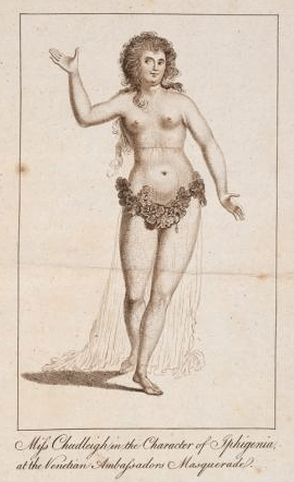 1788 . Published in 'The Life and Memoirs of Elizabeth Chudleigh'