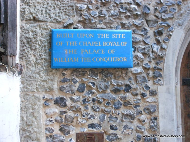 Site of William the Conqueror's Palace