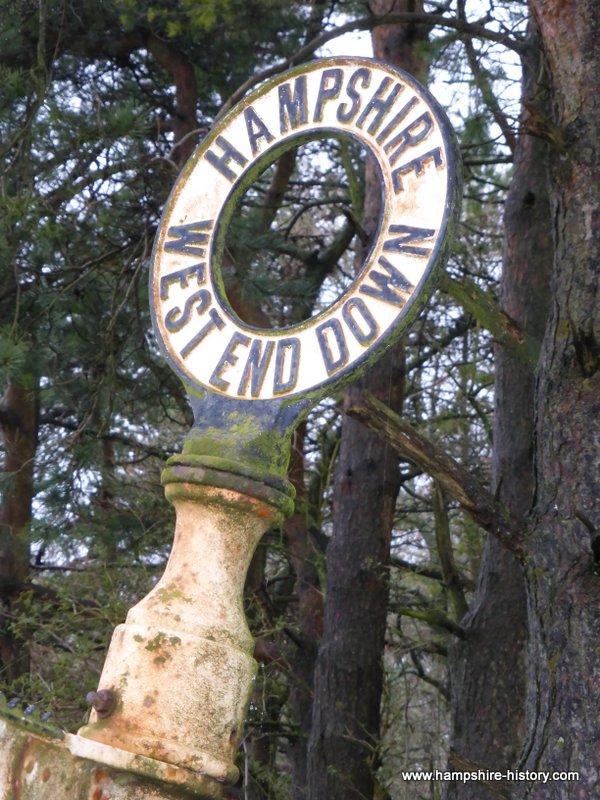 Hampshire Fingerpost