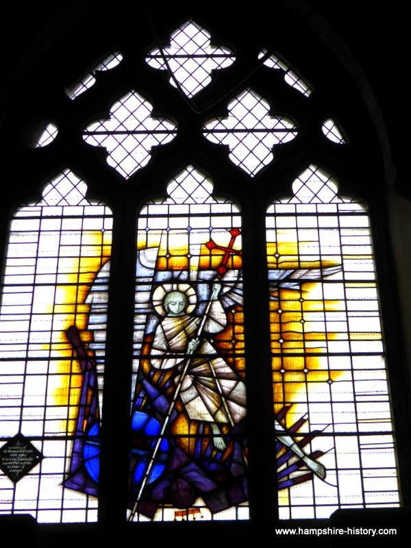 Kings Somborne Hampshire stained glass