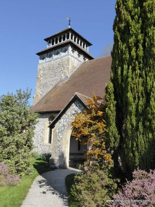 Porch Meonstoke church