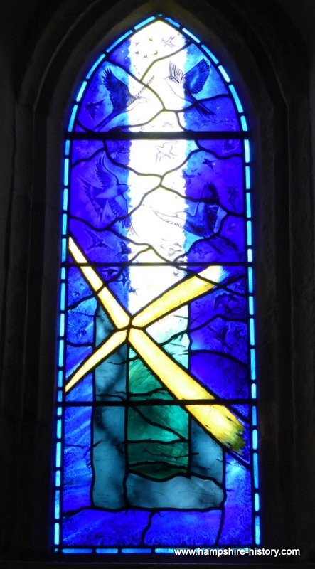 Silchester church stained glass