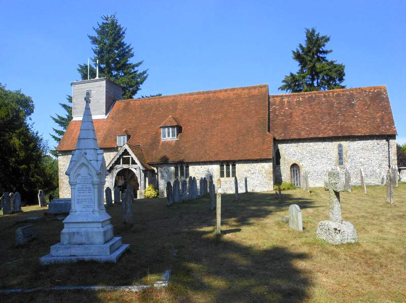 East Wellow church