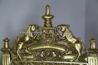 The Tudor Royal Throne Chair In Gold Leaf Antiqued Aged ...
