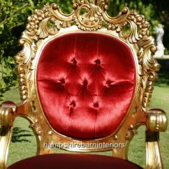 Large Occasional Chairs Extra Bean Bag Arabian Nights Throne Chair…..gold And Black Or Gold Red | Hampshire Barn Interiors