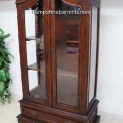 Clearance Sofa Bed Pallet For Sale A Glazed Chippendale Style Mahogany Display Cabinet ...
