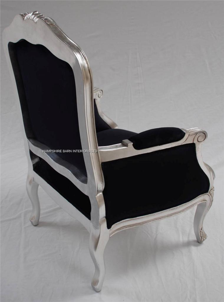 cream upholstered dining chairs uk patio chair covers for sale a beautiful gold leaf and black arm | hampshire barn interiors