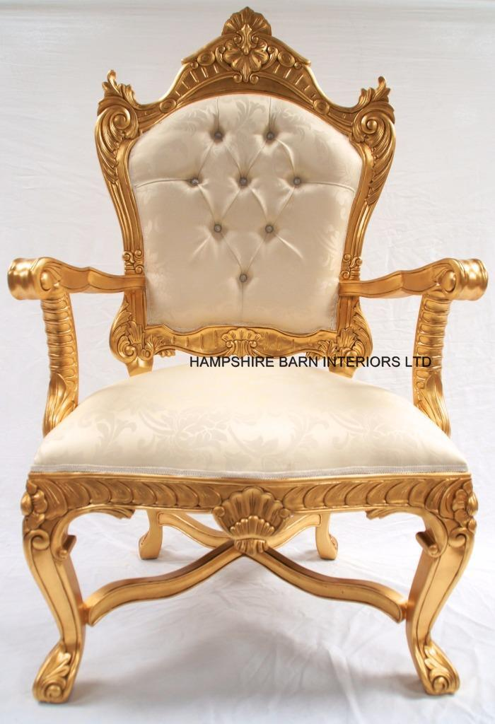 Large Throne Chairs  Hampshire Barn Interiors  Part 2