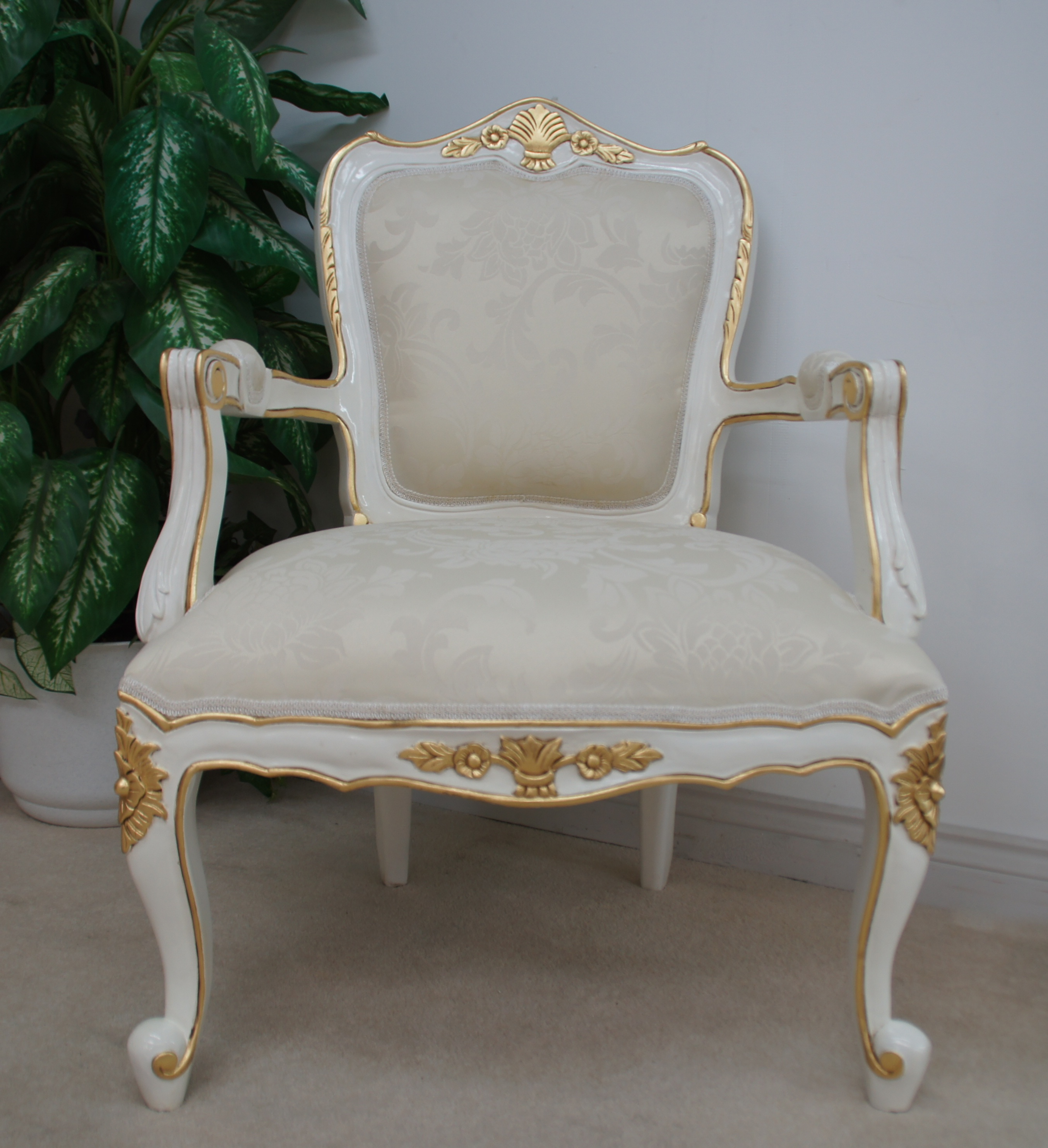 french sofas and chairs living room sofa bed sets large chair in white painted finish with