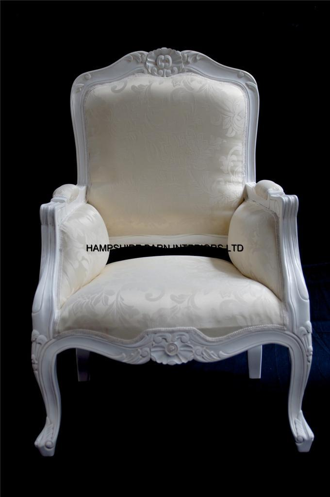 A French Chateau Style Ornate Arm Chair Bedroom Antique
