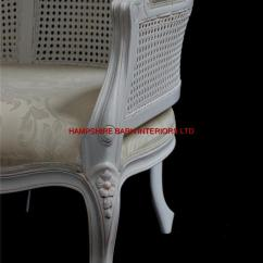 French Canopy Chair Ergonomic Lahore White Feature Tall Throne Arm Designer Hooded | Hampshire Barn Interiors