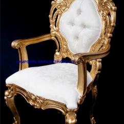 Ivory Dining Chairs Uk Stability Ball Chair For Classrooms A Ornate Royal Palace Throne In Gold Leaf Frame And Cream Fabric With Crystal ...