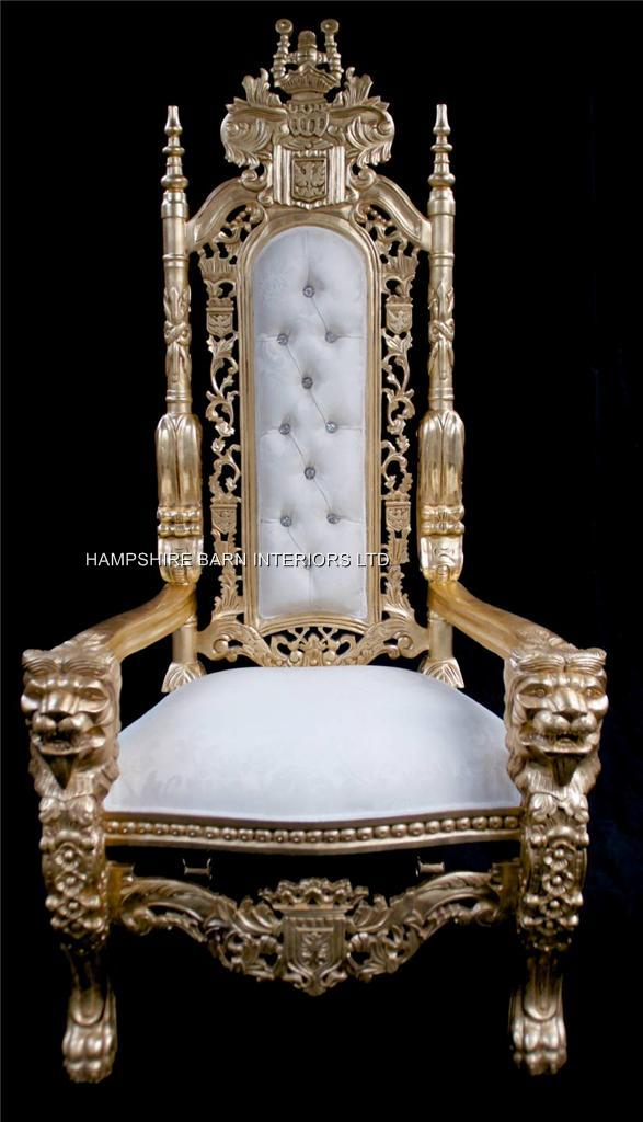 black gothic throne chair eames chairs for sale large   hampshire barn interiors - part 3