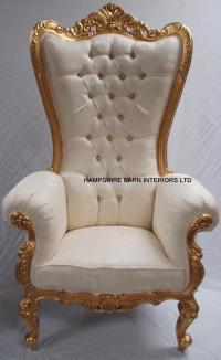 Large Throne Chairs | Hampshire Barn Interiors