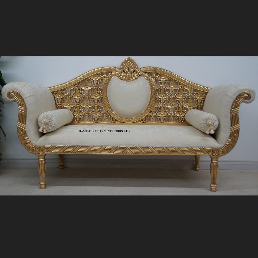 wedding sofa pearl white leather a princess royal in gold and cream hampshire barn cream1