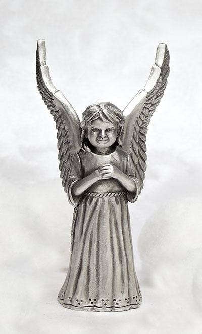 Little Girl Angel Figurine  Angel Watching over me  USA