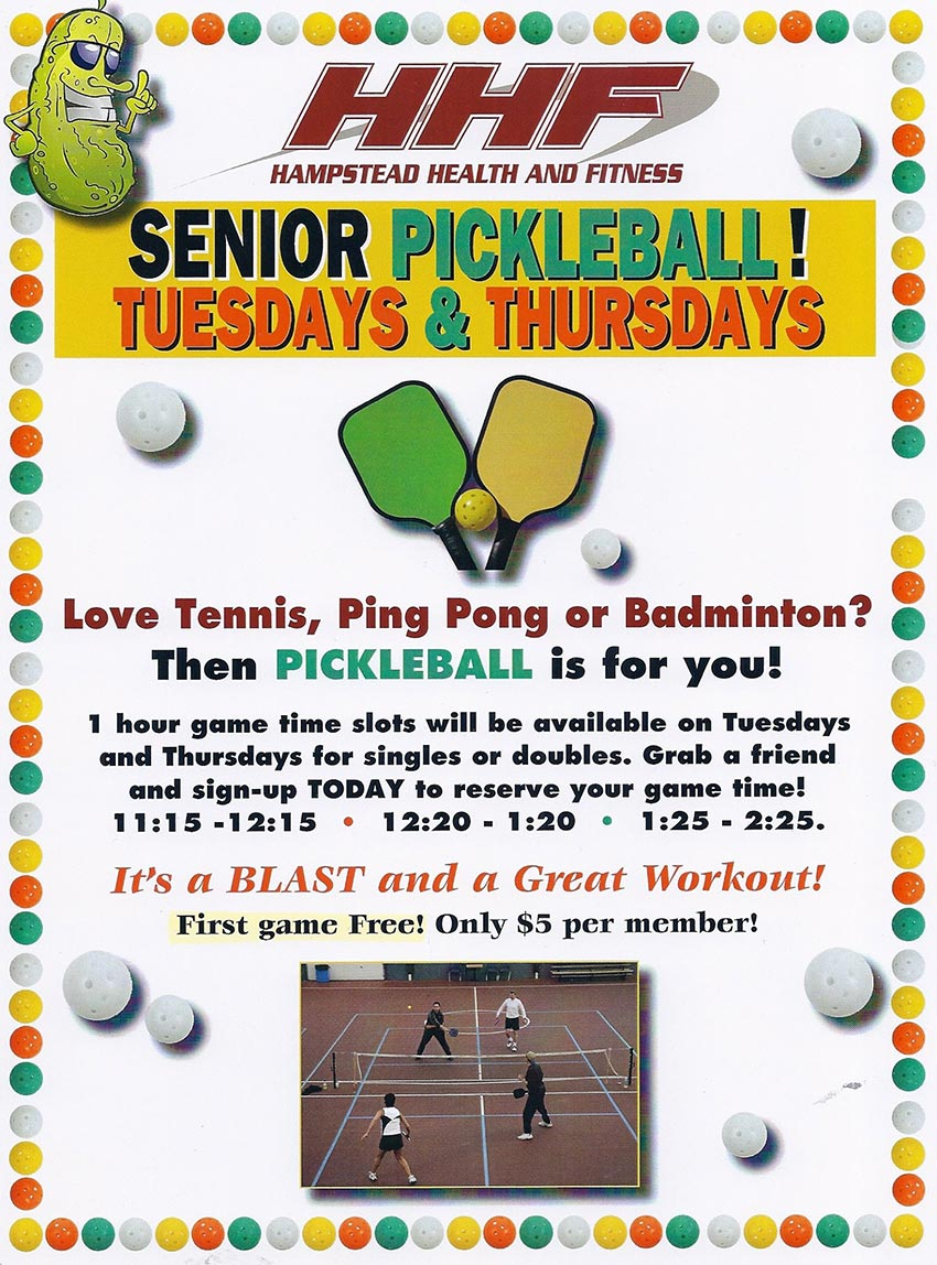 Senior Pickleball