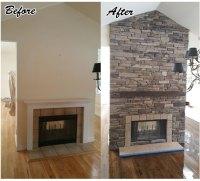 Fireplace Construction | Stone Fireplace Design Hamptons ...
