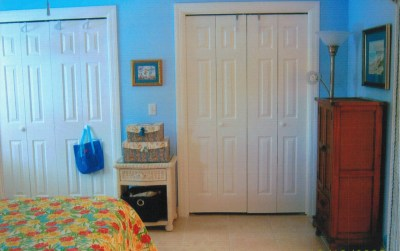 Bedroom #1 Closets