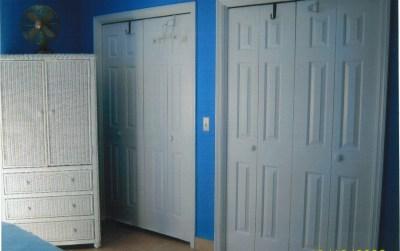Bedroom #2 Closets
