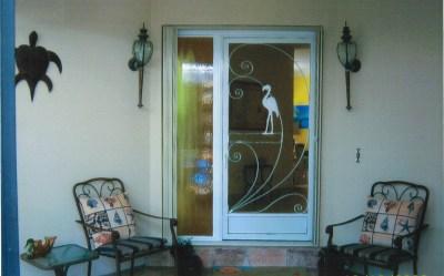 Front Door, inside Screened Porch