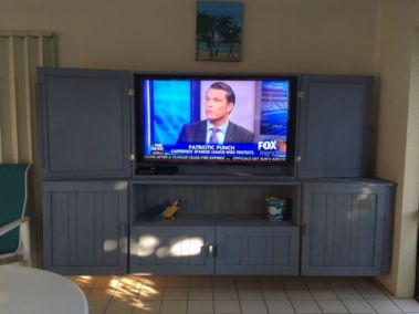 TV_in_Covered Area by Pool