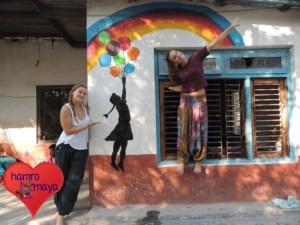Life is colourful in der Behindertenschule.