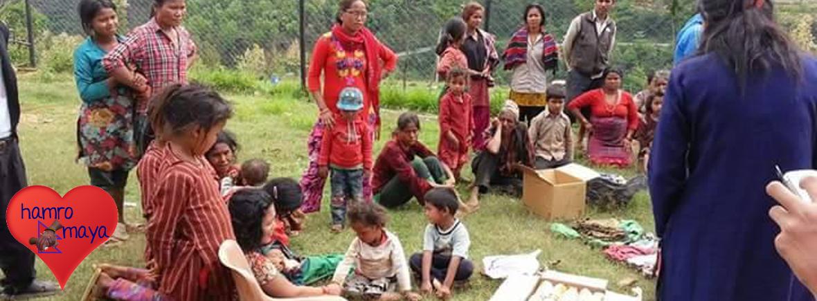 Erdbeben-Nothilfe Projekte in Nepal