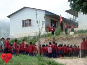 Die Shree Mahankal Secondary School liegt abgelegen im Kavre Distrikt.