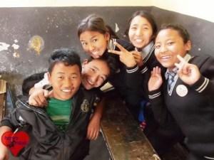 Die Snowland Ranag School beherbergt etwa 150 Kinder.