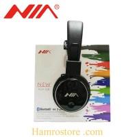 NIA Q8 Stereo Bluetooth Wireless Foldable Sport Headset