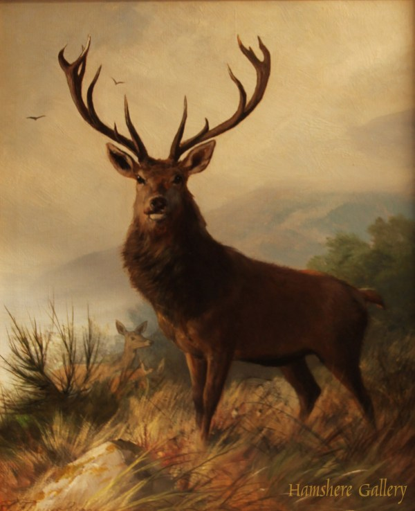 Famous Stag Deer Painting