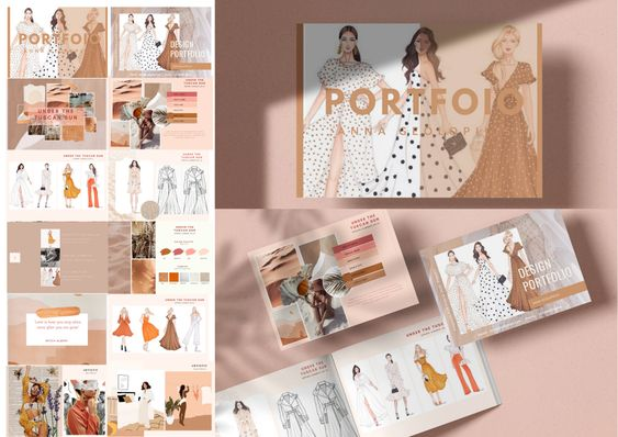 Make Your Fashion Design Portfolio Appealing
