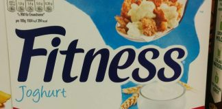 Nestlè Fitnesss Joghurt