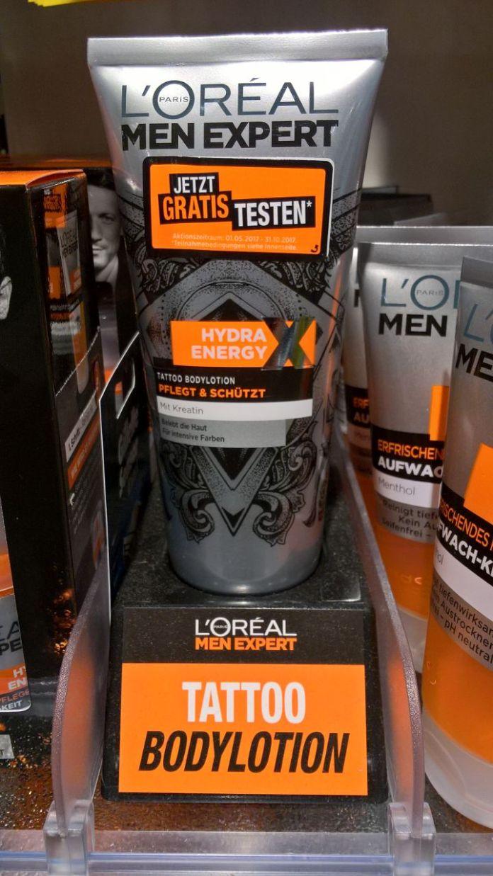 L'Oréal Men Expert Tattoo Bodylotion