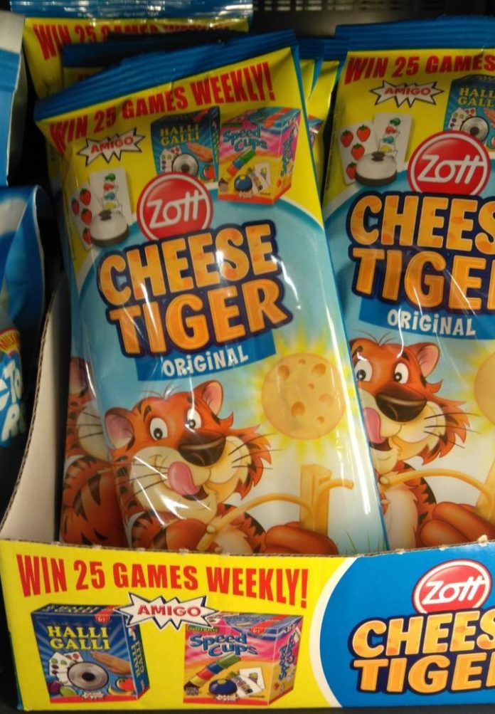 Zott Cheese Tiger