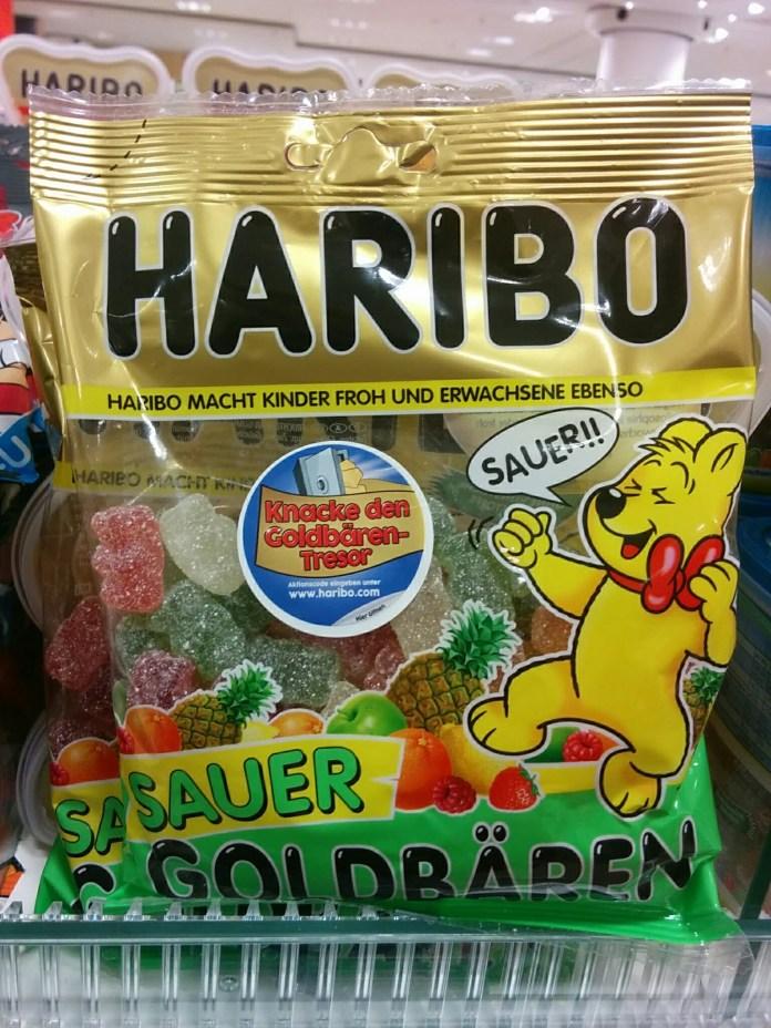 Haribo Goldbären Tresor