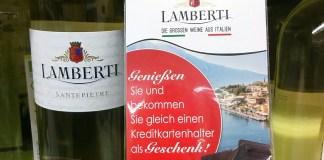 Lamberti Wein - Kreditkartenhalter