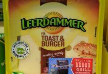 Leerdammer für Toast & Burger