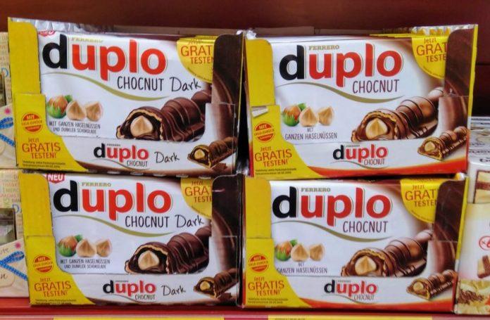 Ferrero Duplo Chocnut und Duplo Chocnut Dark