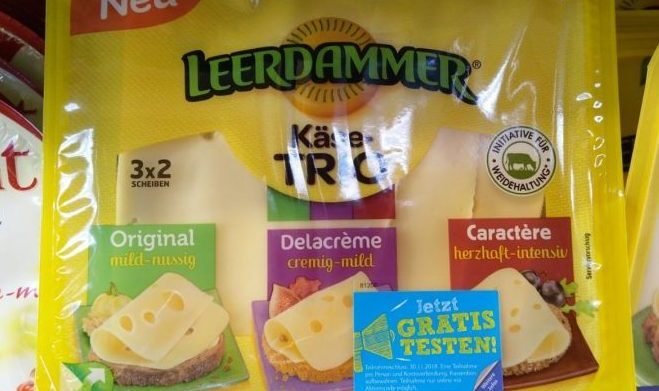 Leerdammer Käse-Trio