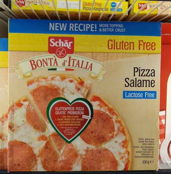 Schär gluten-free Pizza