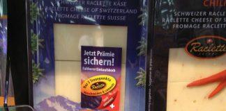 Raclette Suisse-Einkaufskorb