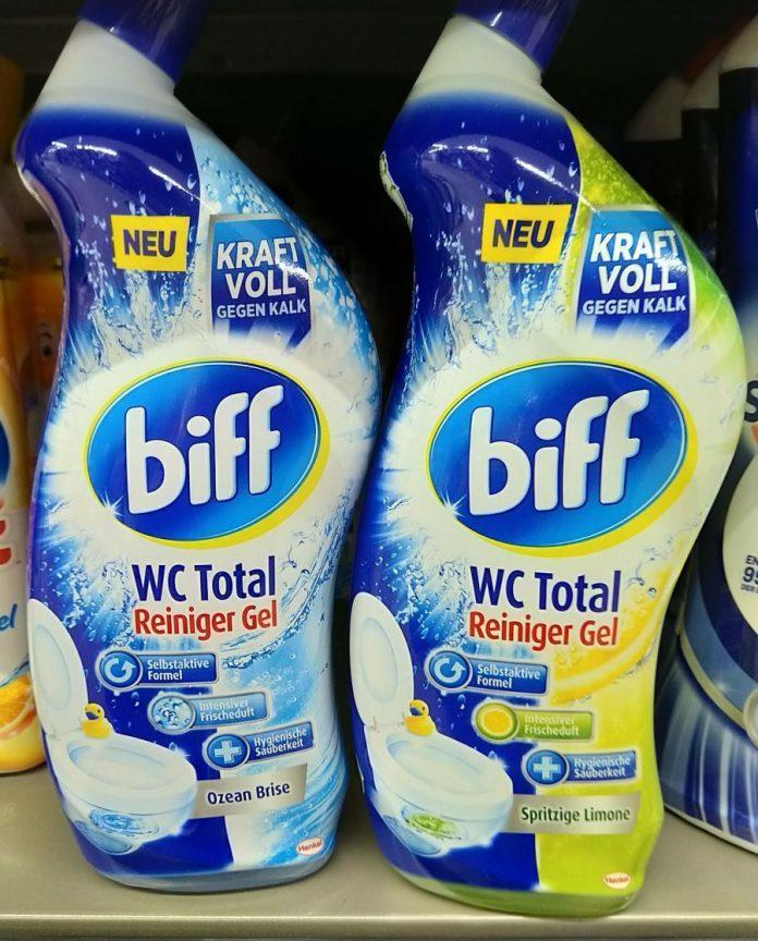 Biff WC Total Reiniger Gel