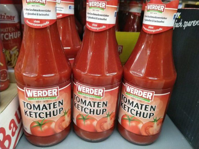 Werder Feinkost Ketchup